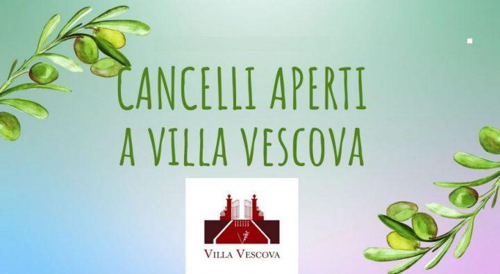 28-29 settembre: Cancelli aperti a Villa Vescova